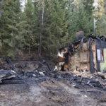 Asukas loukkaantui omakotitalon palossa Kurisjärvellä