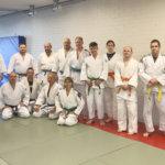 Juhlavuotta viettävä TNS-Judo katselee tiloja Venneriltä