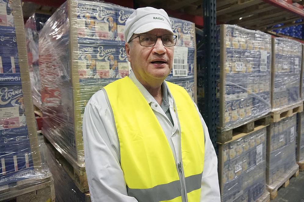 Ylimylläri eli käyttöpäällikkö Jouni Järvensivu sanoo, että Suomen kärkielintarvikebrändeihin lukeutuva Elovena-kaurahiutale on kunnia valmistaa Nokian myllyllä ja vieläpä suurimmaksi osaksi pirkanmaalaisesta kaurasta.
