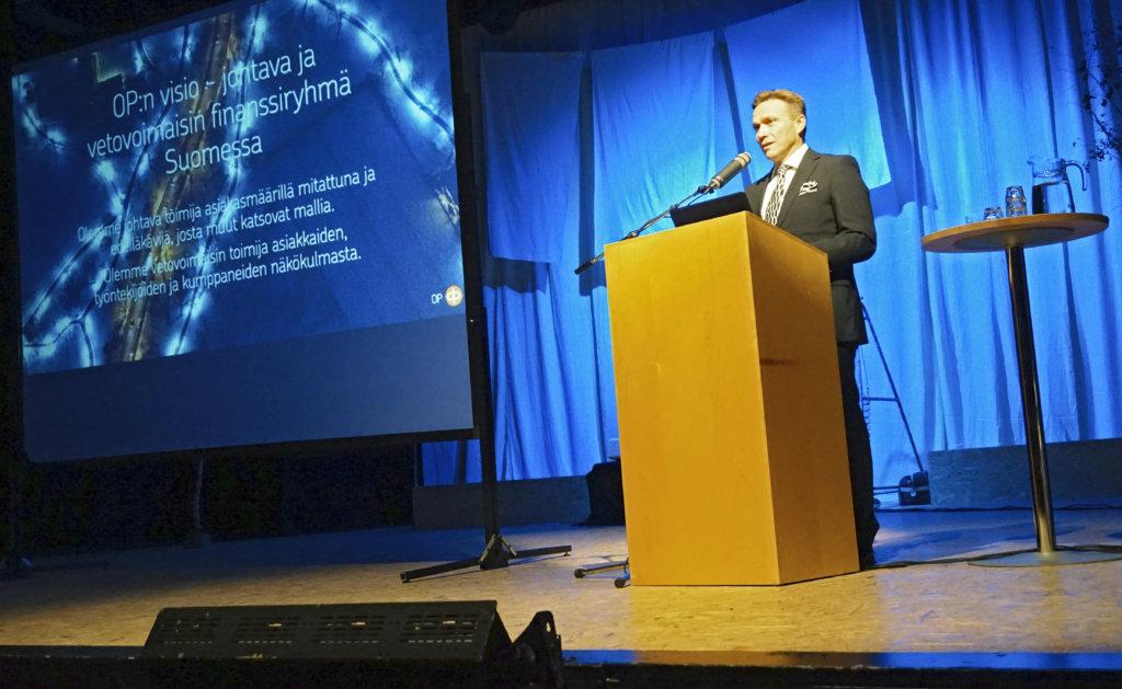 Pääjohtaja Timo Ritakallion mukaan Suomen talous on hyvässä vauhdissa. OP Ryhmän veturi vieraili tiistaina Valkeakoskella Pirkanmaalla.
