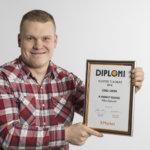Viialan K-kauppias keräsi kunniaa – Niko Nylund palkittiin Länsi-Suomen ja Pohjanmaan alueen vuoden tulokkaana