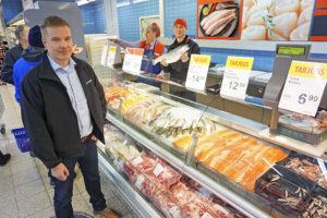 Kauppiasyrittäjä Marko Strand haluaa kehittää K-Citymarket Lielahtea ja Ylöjärveä sekä koko kauppaketjua. Hänet on valittu K-Citymarket-ketjun johtokunnan varapuheenjohtajaksi ja K-ruokakauppiasyhdistyksen hallituksen jäseneksi. (Kuva: Matti Pulkkinen)