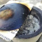 Tihutyölle valikoitui erikoinen ajankohta – Luttusissa poltettiin polttopuukorin kantta