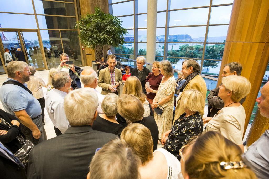 Esittävien taiteiden teatteli Müpa kiinnosti kovasti Suomen Wagner-seuran jäseniä. He osallistuivat 13.-16. kesäkuuta Budapestissä Wagner-päiville. MarcellNemeth esitteli pian 15 vuotta täyttävää taloa.