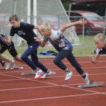 Toijala Junior Gameseihin osallistui yleisurheilijoita ympäri Suomea ja Viialan Valtin ystävyysseurasta Virosta