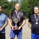 Kylmäkosken Kyykän Veli-Pekka Ehoniemi voitti jälleen kyykänheiton SM-kultaa