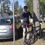 Viialan Virin pyöräilijöille mitalisadetta Lappeenrannan tempokisoista