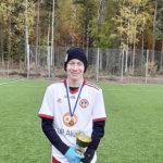 Toijalan Pallon Niklas Varje oli lohkonsa maalikuningas – jalkapallojuniori osui maaliin 52 kertaa