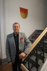 Business Tampereen toimitusjohtaja Harri Airaksinen sanoo, että Tampereesta ja sen kaupunkiseudustaon kerrottava innokkaasti 240-vuotista kehitys- ja kasvutarinaa, jota piippujen romahtaminen tai IT-kuplan puhkeaminen eivät ole lannistaneet. Tuhosta on singonnut aina uutta, myönteistä uhoa. (Kuva: Matti Pulkkinen)