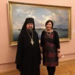 """Arkkimandriitta Sergei: """"Valamo-maalaukset kiinnostavat suuresti venäläismediaa"""""""