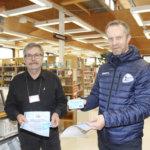 Lippuja Akaa-Volleyn kotipeleihin voi lainata kirjastoista
