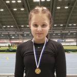 Akaan yleisurheilijat voittivat 14 mitalia Hippohalleista – Roosa Haanpää käsittämättömän ylivoimainen Suomen kärkituloksella