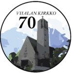 Vilja Kalliotiuran työ valittiin Viialan kirkon juhlavuoden logoksi