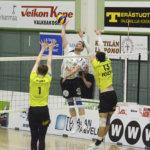 Akaa-Volleylle viiden päivän sisään kaksi tappiota ja voitto