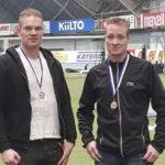 Vauhtilaisille kaksi Suomen mestaruutta ja yhteensä neljä mitalia yleisurheilun aikuisten SM-halleista