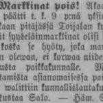 Ehdottoman raittiuden aate levisi Akaaseen 1800-luvun lopulla – Työläiset mellastivat palkkapäivinä kylän raitilla, oluttehdas pahensi tilannetta
