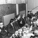 Herrat juhlivat seurakunnan huoltorakennuksen harjakaisia