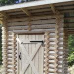 Nahkialanvuoren laavulle ja Leijonalaavulle rakennettiin talkoilla puuliiterit