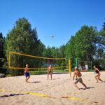Kaikille avoimet beach volleyn viikkokisat palaavat Luttusiin
