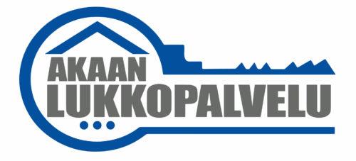 Akaan Lukkopalvelu logo