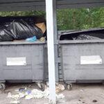 Sataman roskikset houkuttelevat jo variksia ja kohta myös rottia