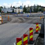 Hämeentien uusi liikenneympyrä on valmis elokuussa – Kierrä työmaa keskustan kautta ensi viikolla