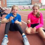 Akaan urheiluseuroille 25 mitalia yleisurheilun pm-kilpailuista