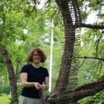 Taidetapahtuma Näkymä toteutuu sittenkin – Liisa Hilasvuori inspiroitui Nahkialanjärven maisemasta