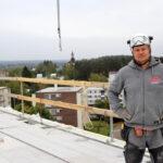 Rakennusprojekti on aina riski, mutta sen alkuun liittyy myös jonkinlaisen odotuksen purkautuminen