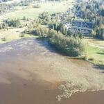 Nahkialanjärven pohjoispuolella sijaitsee Pennolanmäen rautakautinen asuinpaikka – Myös Nahkialan historiallinen kylänpaikka löytyi