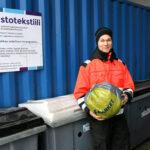 Poistotekstiilien keräys käynnistyi Akaassa – Kierrätystuotteina syntyy muun muassa lankaa ja eristeitä
