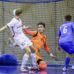 Akaa Futsalin historian ensimmäinen peli Mestarien Liigassa päättyi niukkaan tappioon – Maalivahti Kasper Kangas pelasi huippupelin, avainpelaajista kaksi oli poissa perhesyistä