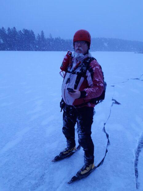 Pekka Tyllilä tietää, että luonto vetää nyt ennätystahtiin ihmisiä puoleensa. HikingTravelin työtilanne on hyvä.
