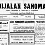 Toijalan Sanomia vuosilta 1916–1939 voi lukea diginä – Paikallislehteä on tehty Akaassa kohta 105 vuotta