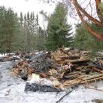 Talo oli liekkien vallassa palokunnan saapuessa Heinäkankaantielle – Palomestari Juuso Nummela: Syttymissyyn selvittäminen on haastavaa