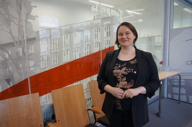 Suunnittelujohtaja Ruut-Maaria Rissanen odottaa malttamattomana tuloksia uudesta väestösuunnitteesta. Hänen mukaansa Pirkanmaan asukasmäärä on jatkossakin vahvasti kasvu-uralla. (Kuva: Matti Pulkkinen)
