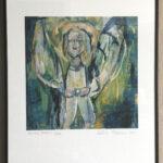 Toivon enkeli huutokaupataan yhteisvastuun hyväksi – Käy tutustumassa tauluun Akaan seurakuntatalolla