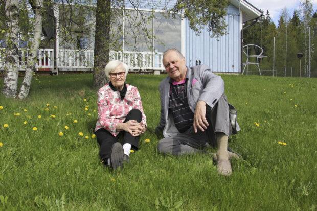 Esko Raipia on nyt teatterineuvos. Hänen puolisonsaMaija-Leena Raipia on arvostettu koreografi. (Kuva: Matti Pulkkinen)