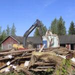 Maisema muuttuu – Holstin talo teki tilaa keskuskeittiölle
