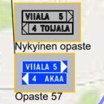 Teknisen lautakunnan hyväksymässä viitoitussuunnitelmassa Akaaseen ohjataan myös kaupungin sisällä – Viiala- ja Kylmäkoski-opasteet on tarkoitus pitää lähes ennallaan, mutta Toijalaan aiotaan ohjata ainoastaan Akaana