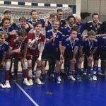 PJK:n P19-joukkueessa akaalaista osaamista: Janne Körkkö ja Aatu Nieminen voittivat futsalin SM-pronssia