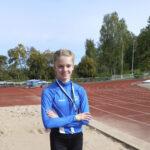 Toijalan Vauhdin Julia Suolaniemi rikkoi seitsemän vuotta vanhan pituushyppyennätyksen – 11-vuotias akaalainen siirsi maailmanmestarin tuloksen historiaan