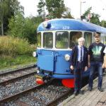 Veturimuseon Lättähattu vei Humppilaan ja toi Toijalaan – Konduktöörinä toimi Väyläviraston rautatieliikennejohtaja
